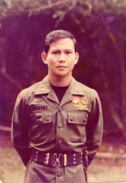 Foto Prabowo Masih Berseragam Tentara