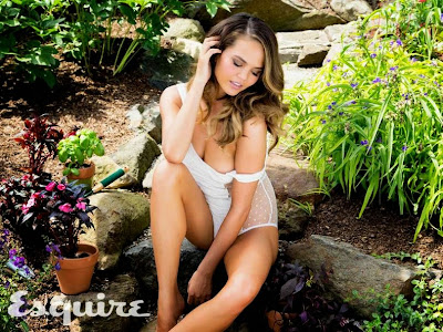 Chrissy Teigen poses in sexy bikini for Esquire magazine photoshoot
