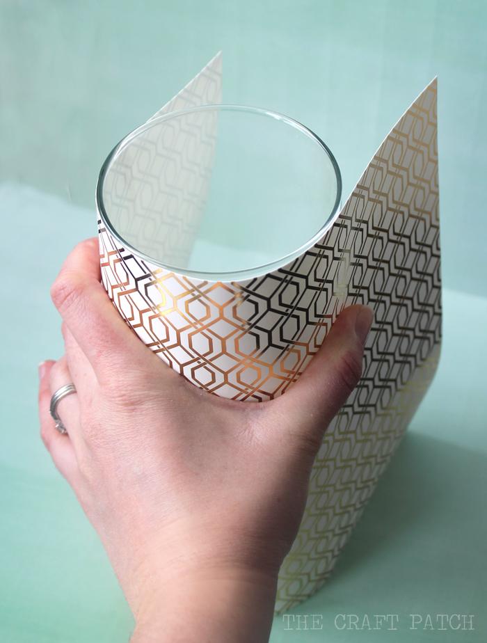 Easy Gold Foil Vases