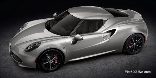 Alfa Romeo 4C in Grey