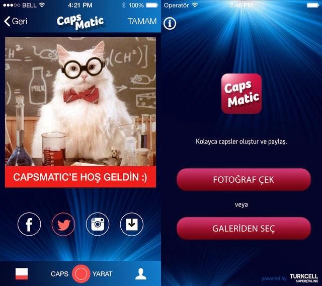 Turkcell Superonline CapsMatik Uygulaması