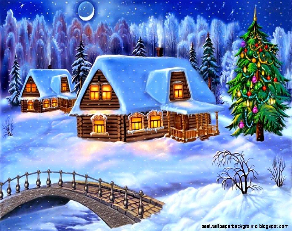 view original size - Christmas Computer Wallpaper
