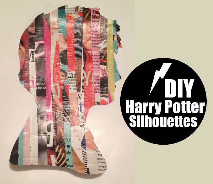 DIY Harry Potter Silhouettes
