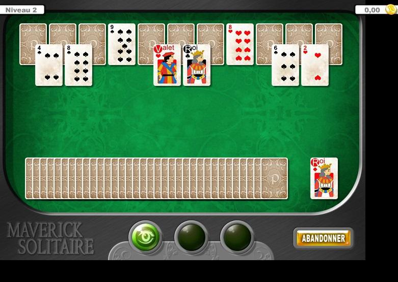 solitaire jeu gratuit en ligne