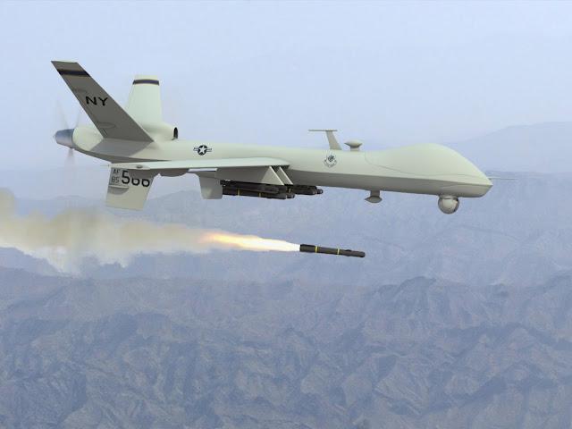 Serangan Rudal Drone Amerika Tewaskan Griliawan Taliban
