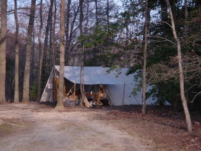 My camp at Spring OVPR
