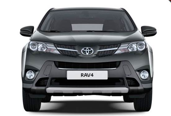 2018 Toyota RAV4 Design Change