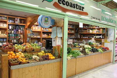 Puesto mercado El Fontán. Oviedo. Blog Esteban Capdevila