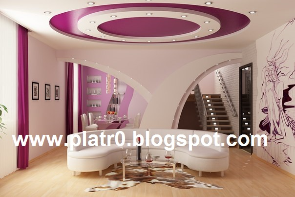 Placoplatre decoration plafond cuisine for Plafond platre moderne pour salon