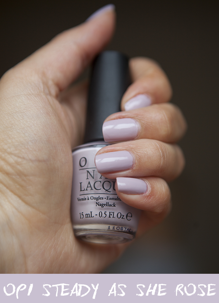 Nails of the Day - OPI Steady As She Rose | Super Gorgeous