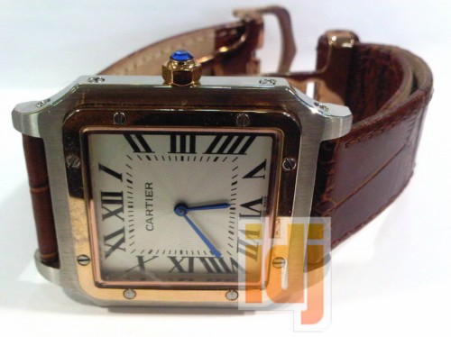 CARTIER VINTAGE ROMA LEATHER RP.300RB