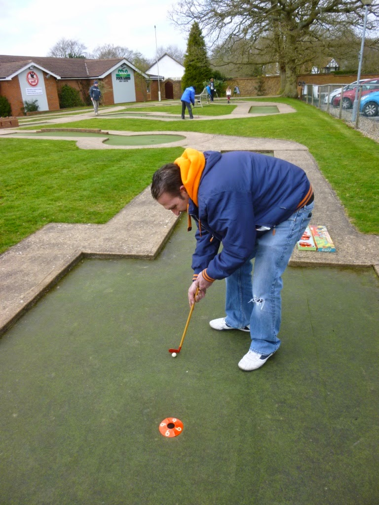Chad Valley Miniature Golf
