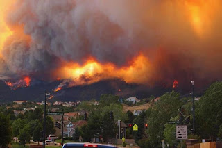 Colorado wildfire picture