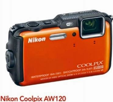 Nikon Coolpix AW120 Kamera Segala Cuaca