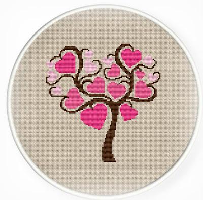 Inspiracje: Walentynkowy haft