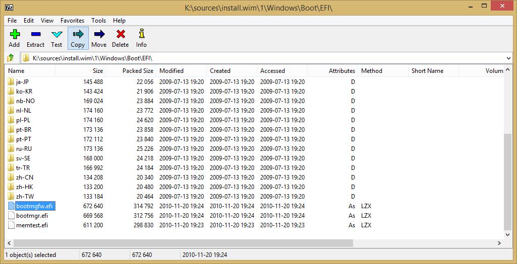 membuat bootable uefi usb installer windows 7 membuat