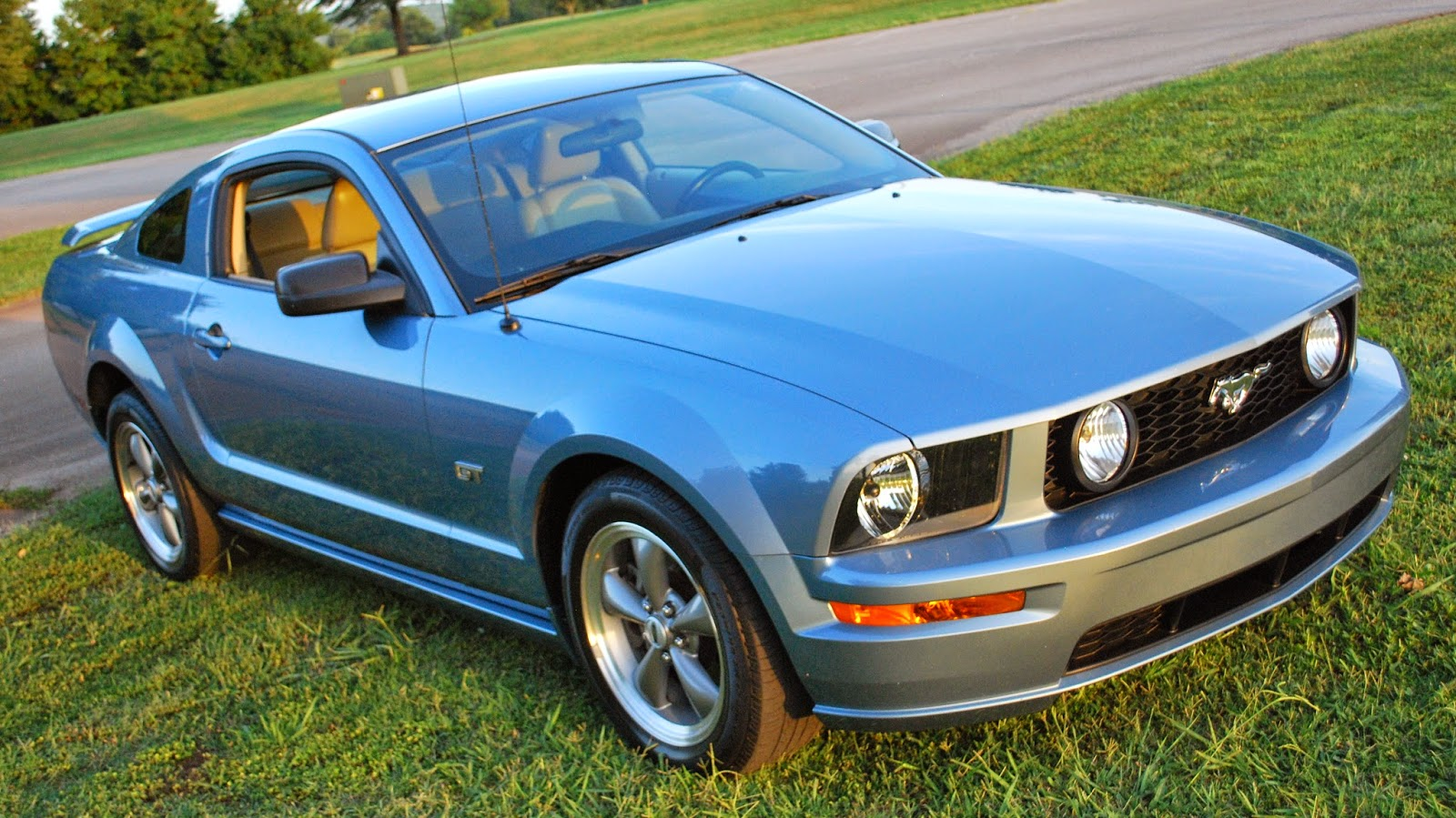 2006 ford mustang gt windveil blue for sale huntsville al. Black Bedroom Furniture Sets. Home Design Ideas