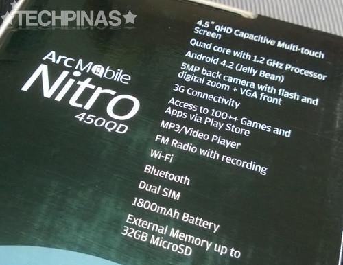 arc mobile, arc mobile nitro 450qd