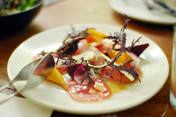 Chiswick Restaurant NSW Collective Menu Sashimi yellow fin tuna