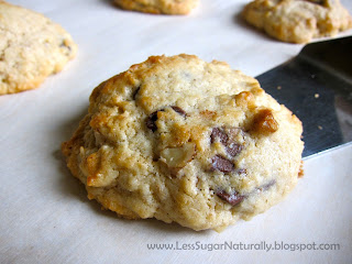 levain bakery low sugar walnut chocolate chip cookie recipe