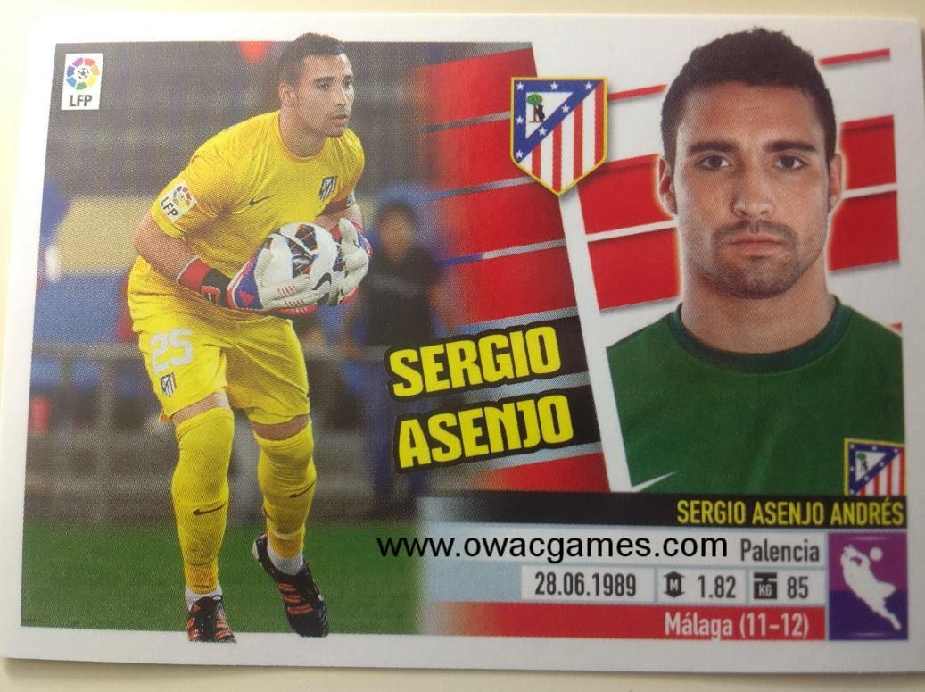Liga ESTE 2013-14 Atl. de Madrid - 2 -Sergio Asenjo