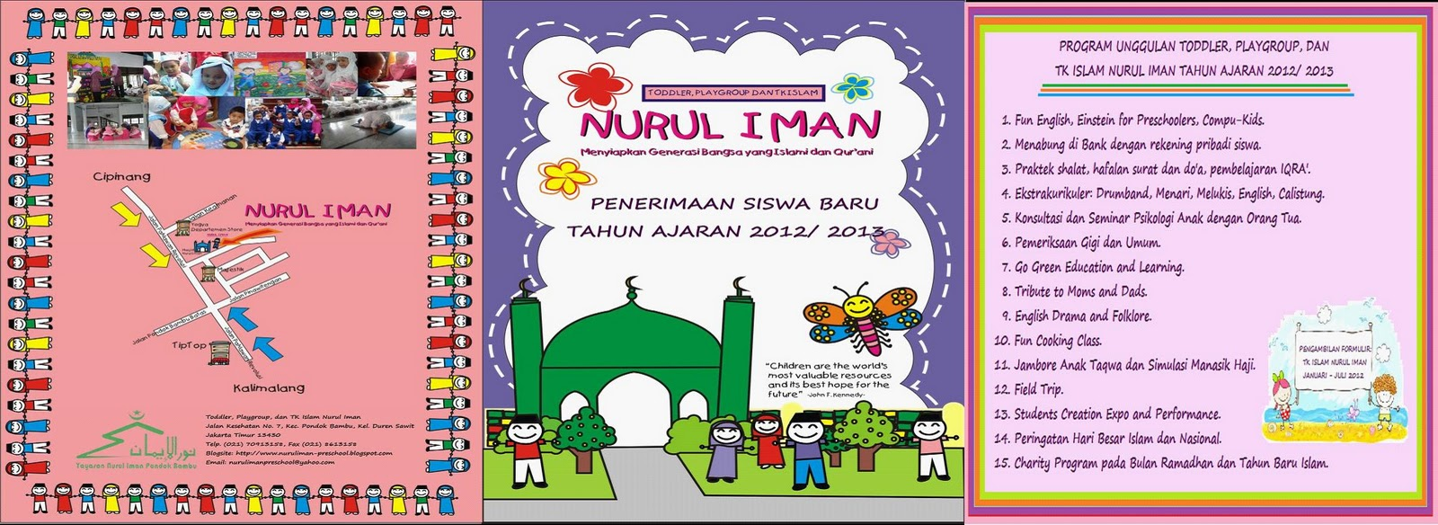 NURUL IMAN: Islamic Toddler, Playgroup, and Kindergarten