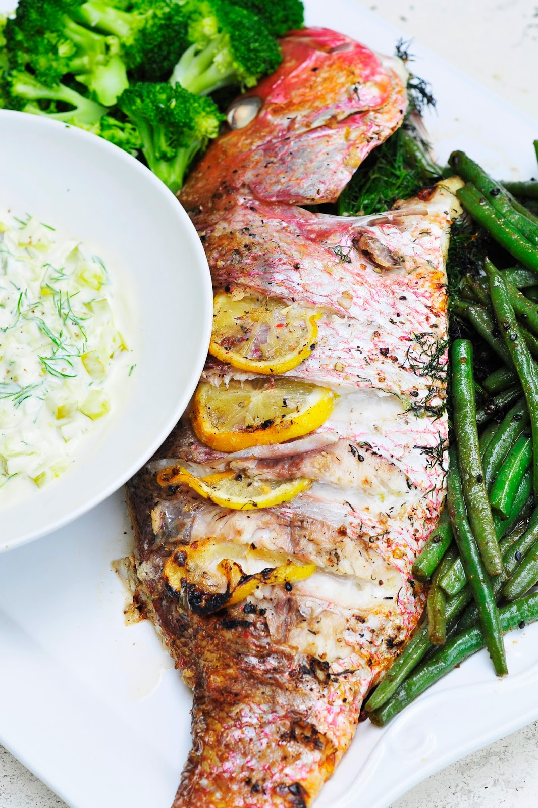 Grilled Red Snapper | Grilled Seafood Recipes For Your Next Seafood Feast | Mixed Seafood Grill Recipes