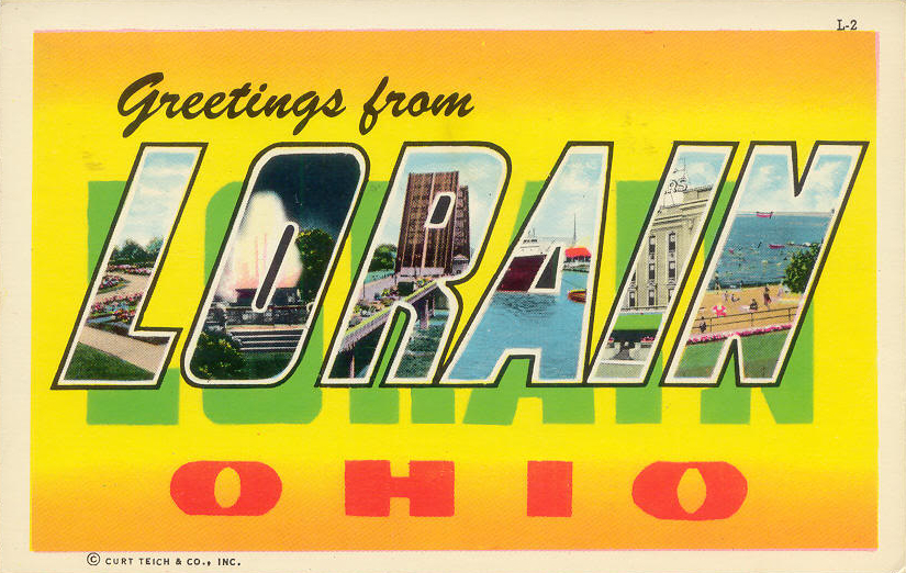 Bradys bunch of lorain county nostalgia greetings from lorain this other greetings postcard below was there on ebay as well it was postmarked 1974 which makes me wonder if the person who mailed it had pulled it m4hsunfo