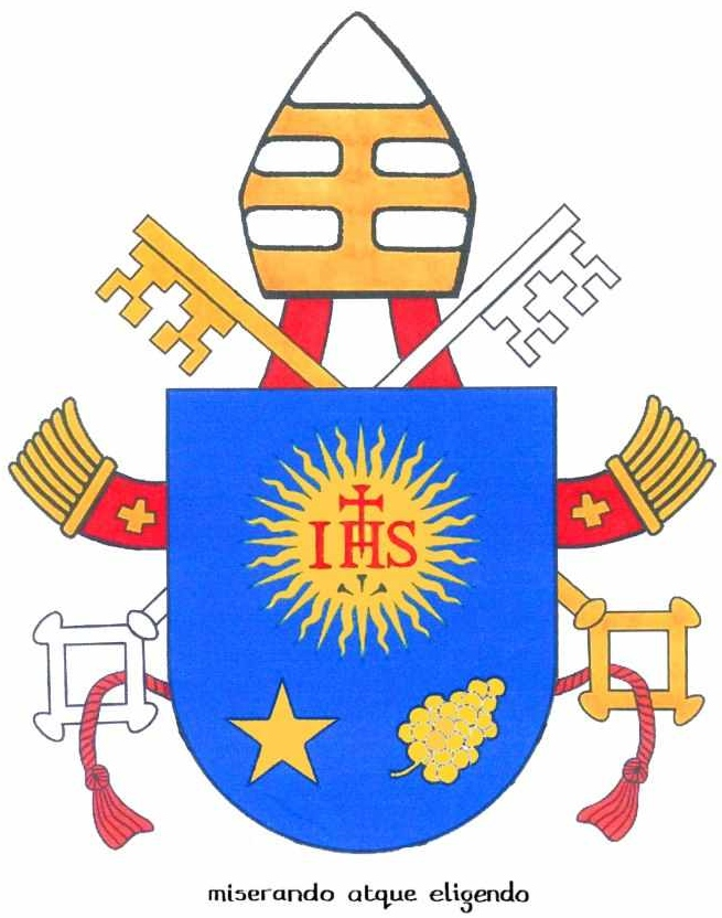 Pope Franciss Coat Of Arms A Ccd Lesson The Hill Country Hermit