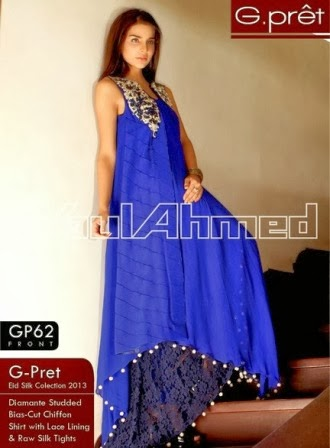 Gul Ahmed Royal Dress