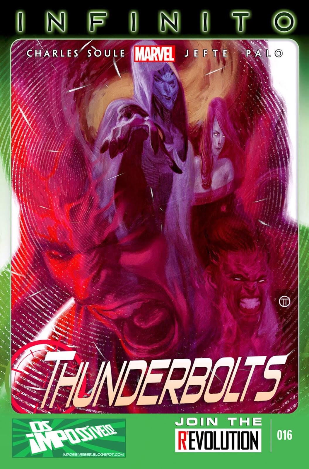 Nova Marvel! Thunderbolts #16