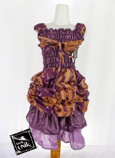 Model Baju Anak Perempuan Motif Batik Lucu Unik