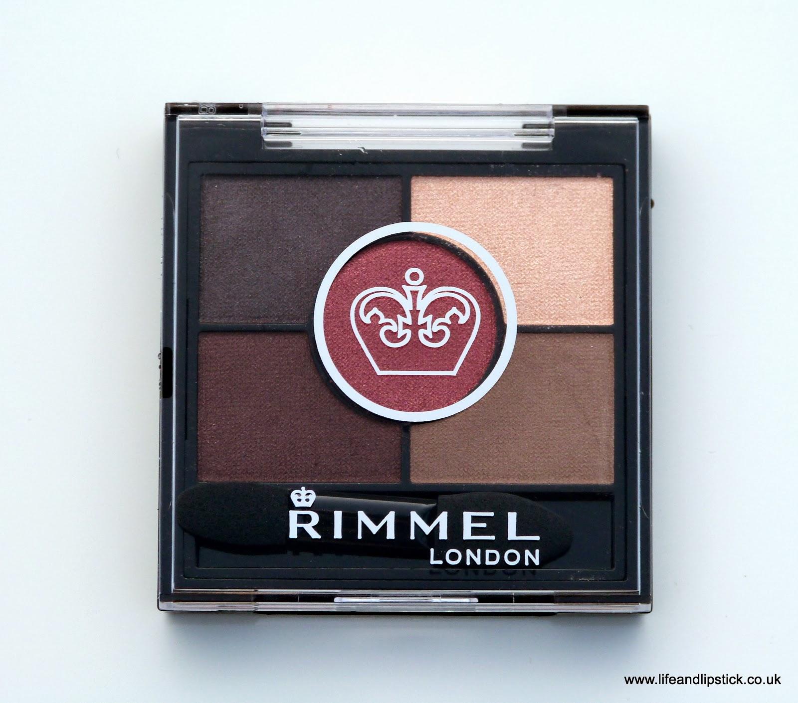 Rimmel London Eyeshadow Palette Brixton Brown