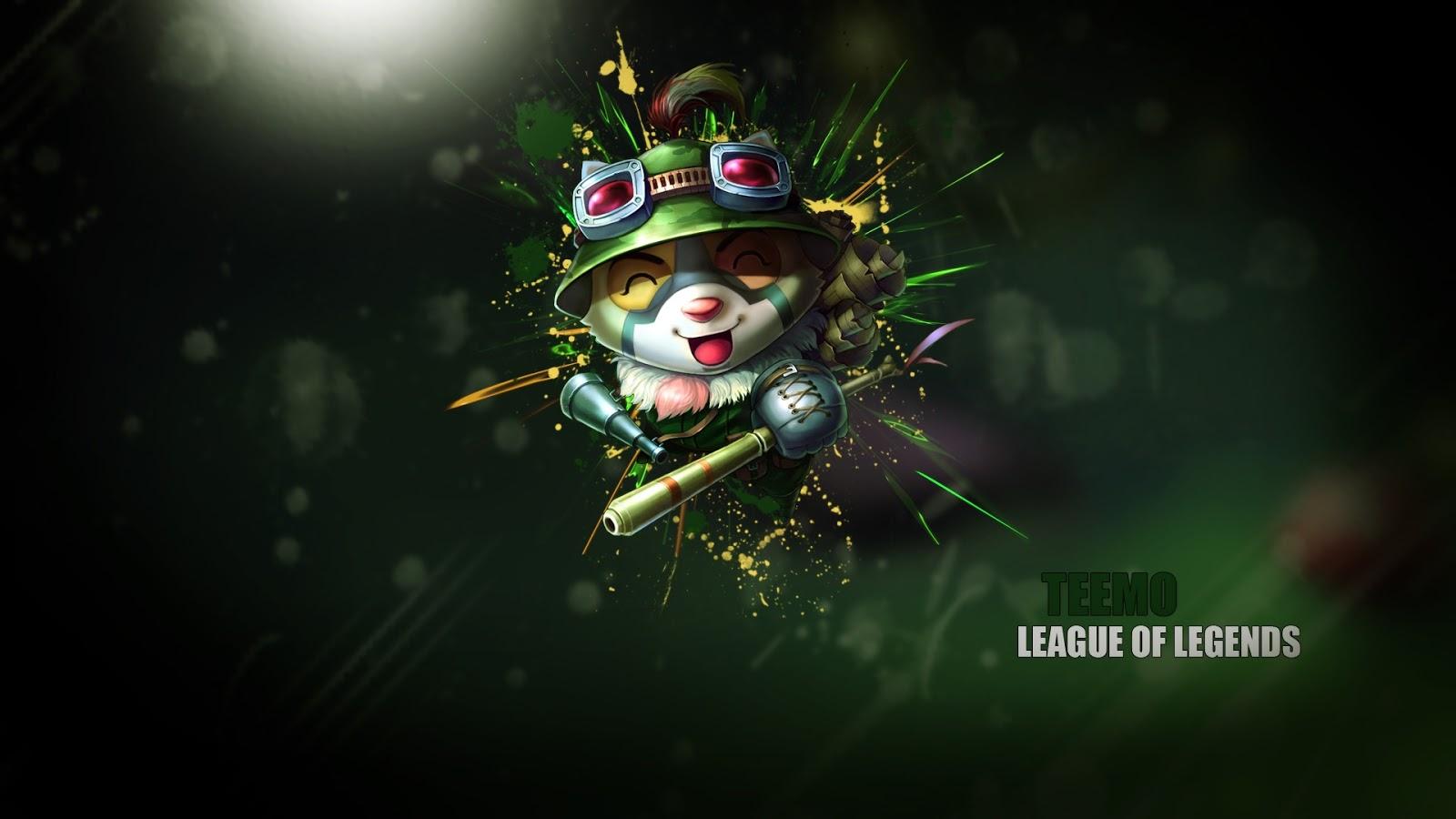 Teemo in League of Legends ~ Mystery Wallpaper