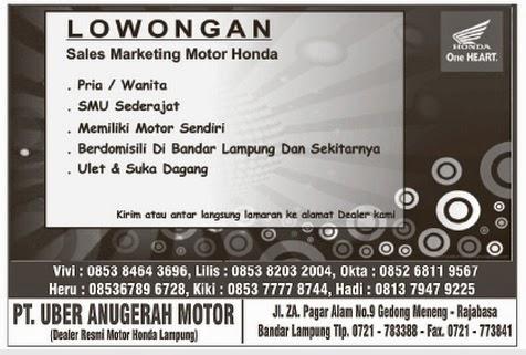 Karir Lampung Terbaru 9 Mei 2014
