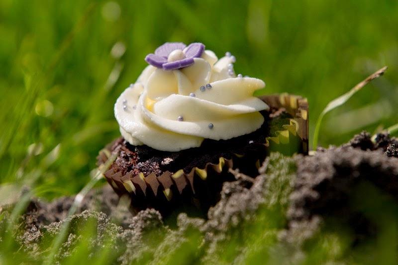 Muffin mit Frischkäse-Frosting