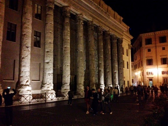 Pantheon by night