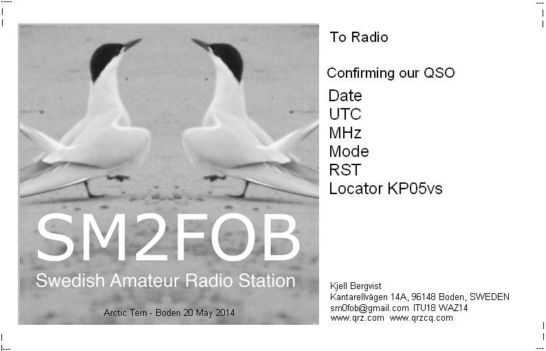 SM0FOB Ham Radio
