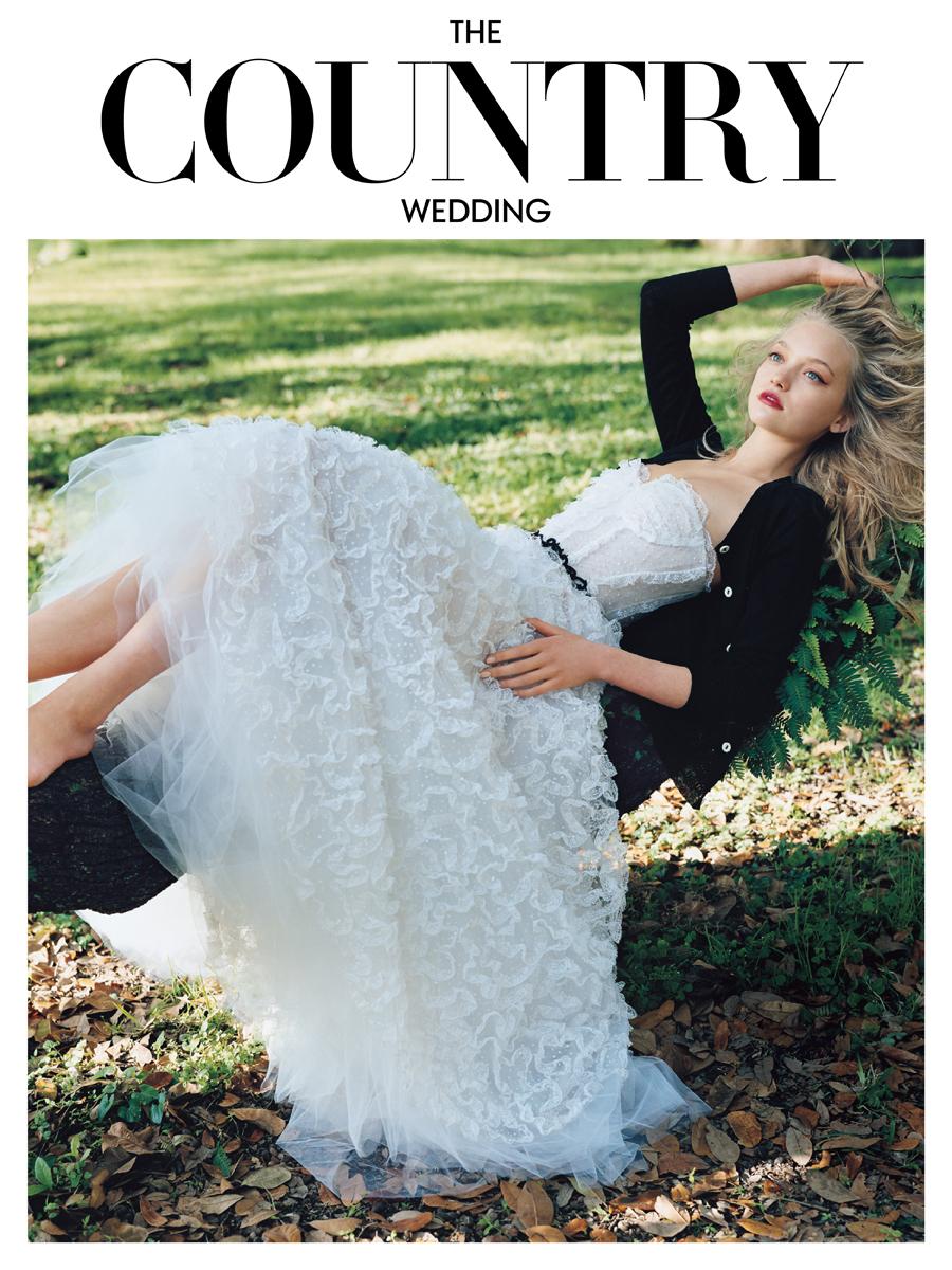 Vogue Wedding Guides   One Chloe Bird