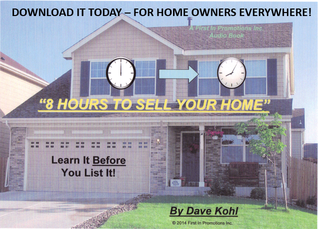 8 Hours To Sell Your Home