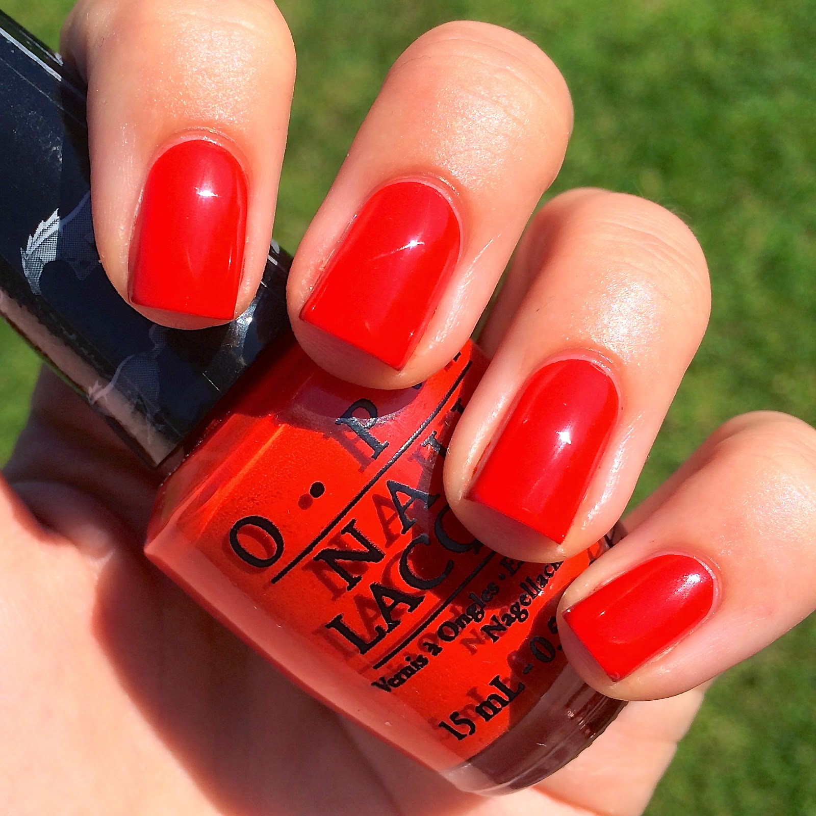 Nails Always Polished: OPI Race Red