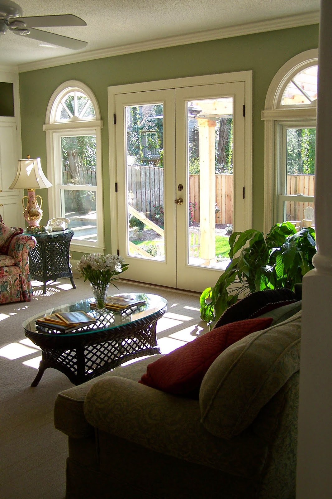 Shaefer Heard Construction Landscape Adding French Doors To A