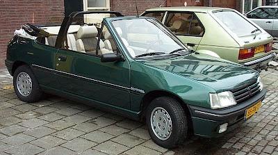 coches de los 80 peugeot 205 roland garros cabriolet