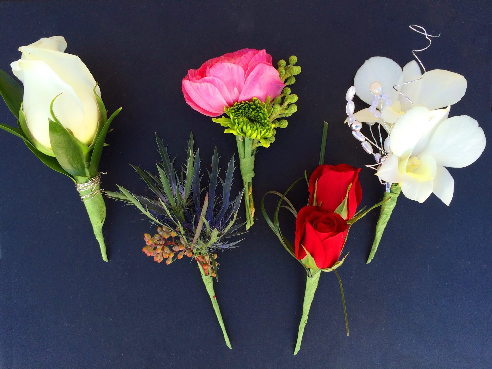 Prom Boutonnieres