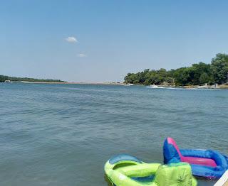 lake, yoga