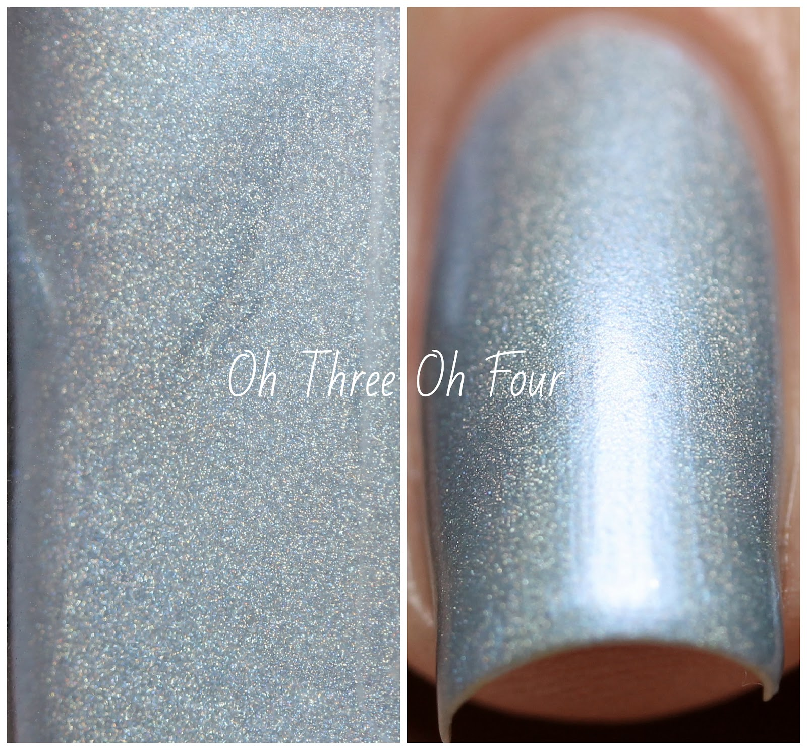 Blue-Eyed Girl Lacquer Tea is Soothing. I Wish to be Tense. Swatch