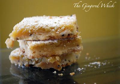 Earl Grey Lemon Bars - The Gingered Whisk