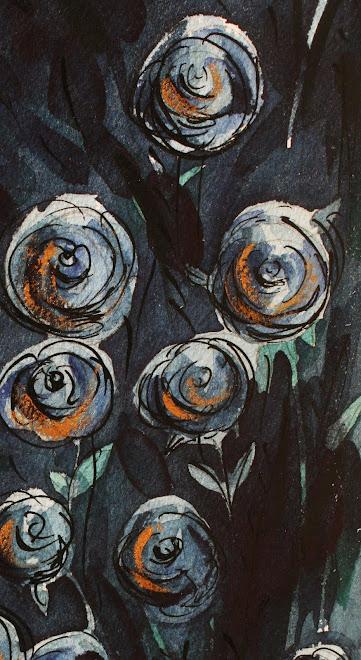 Les roses bleues Tango