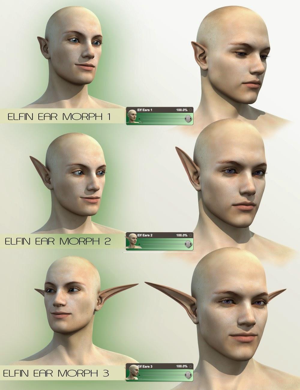 Mad Elf - Oreilles Genèse 2 Homme Elven