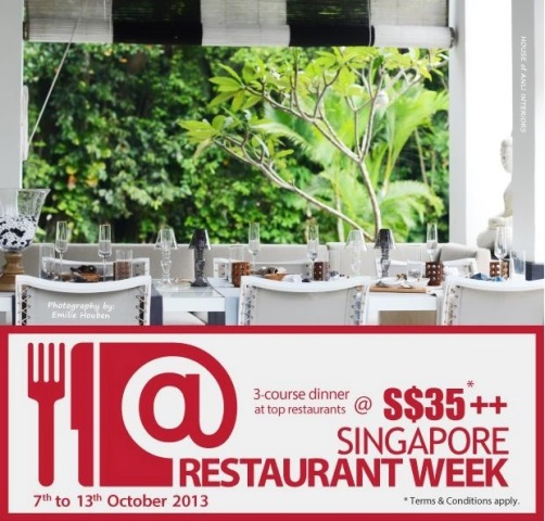 singapore restaurant week dining city media invite